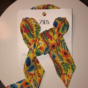 Zara Yellow Scarf